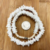 Mother of Pearl Unisex Summer Necklace 17 inch
