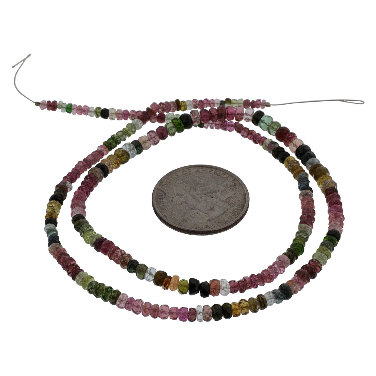 Multi-colored Tourmaline Beads