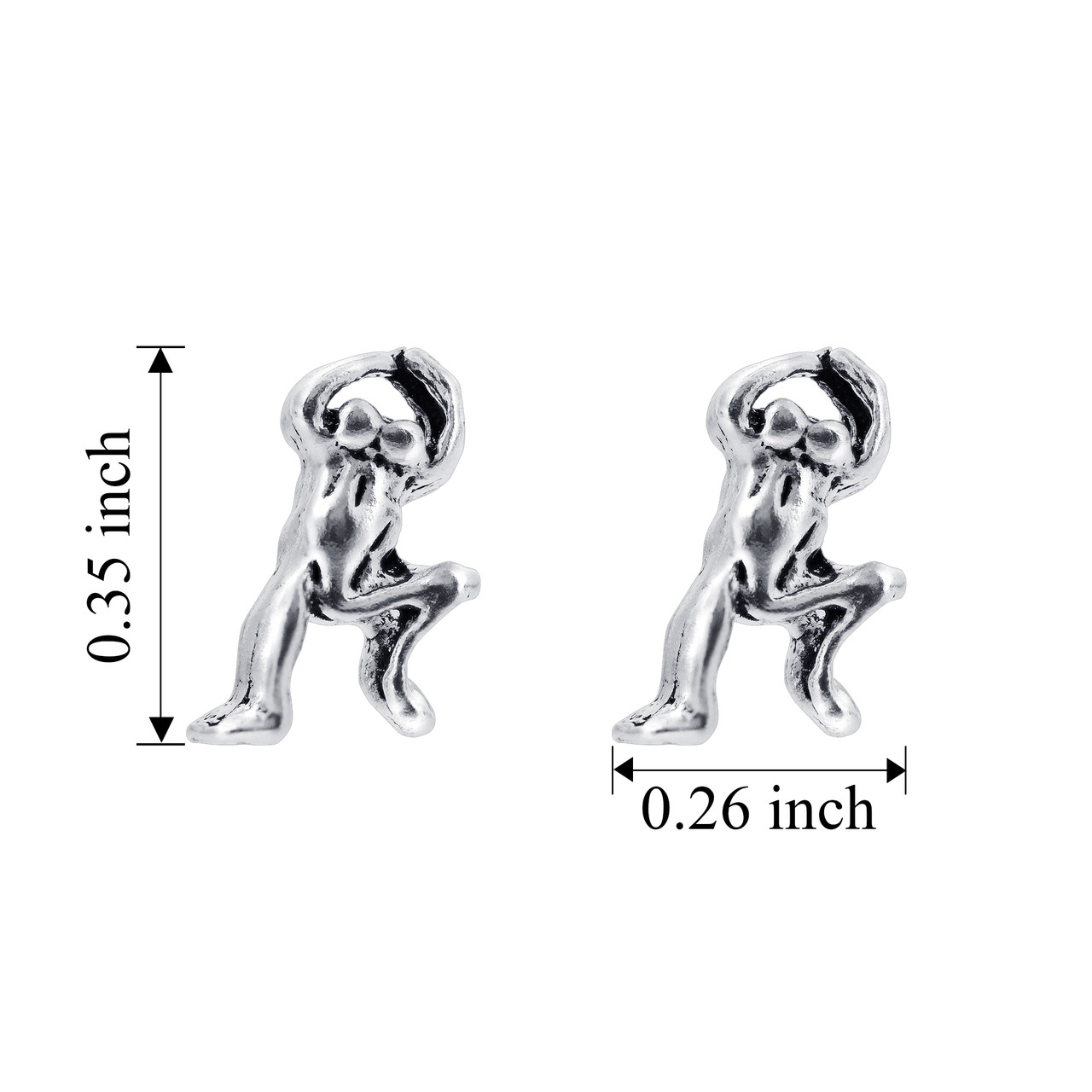 Jumpping Frog Kids Stud Earrings