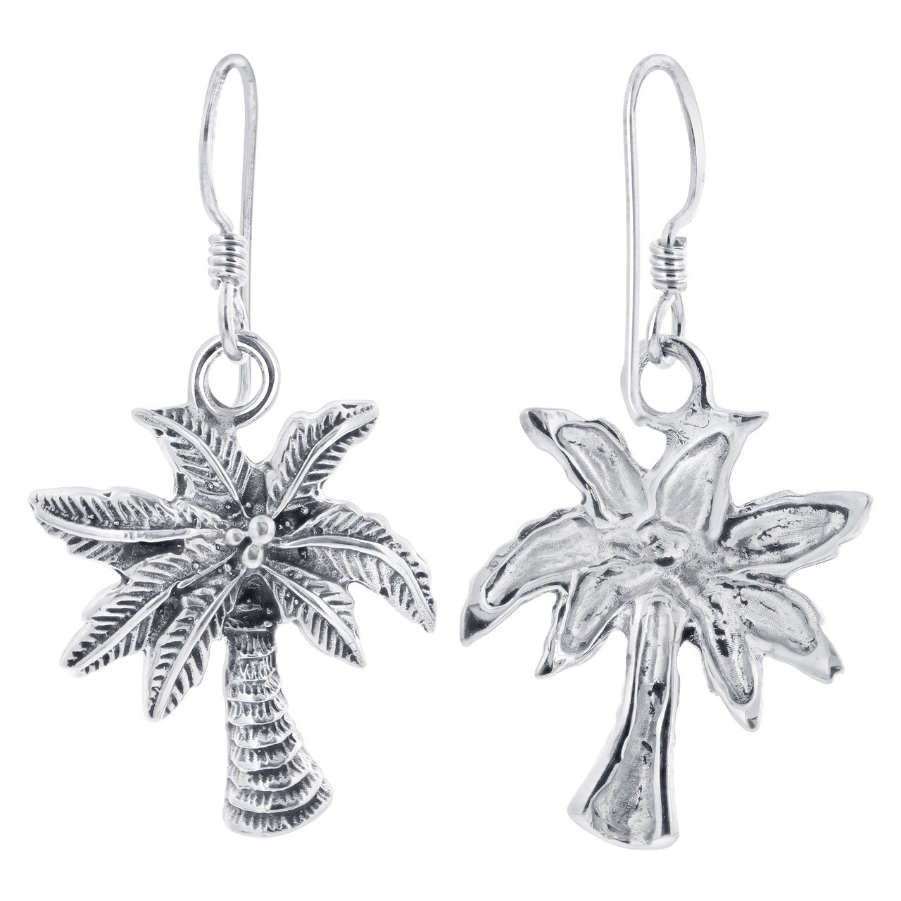 Palm Tree Kids Drop Earrings