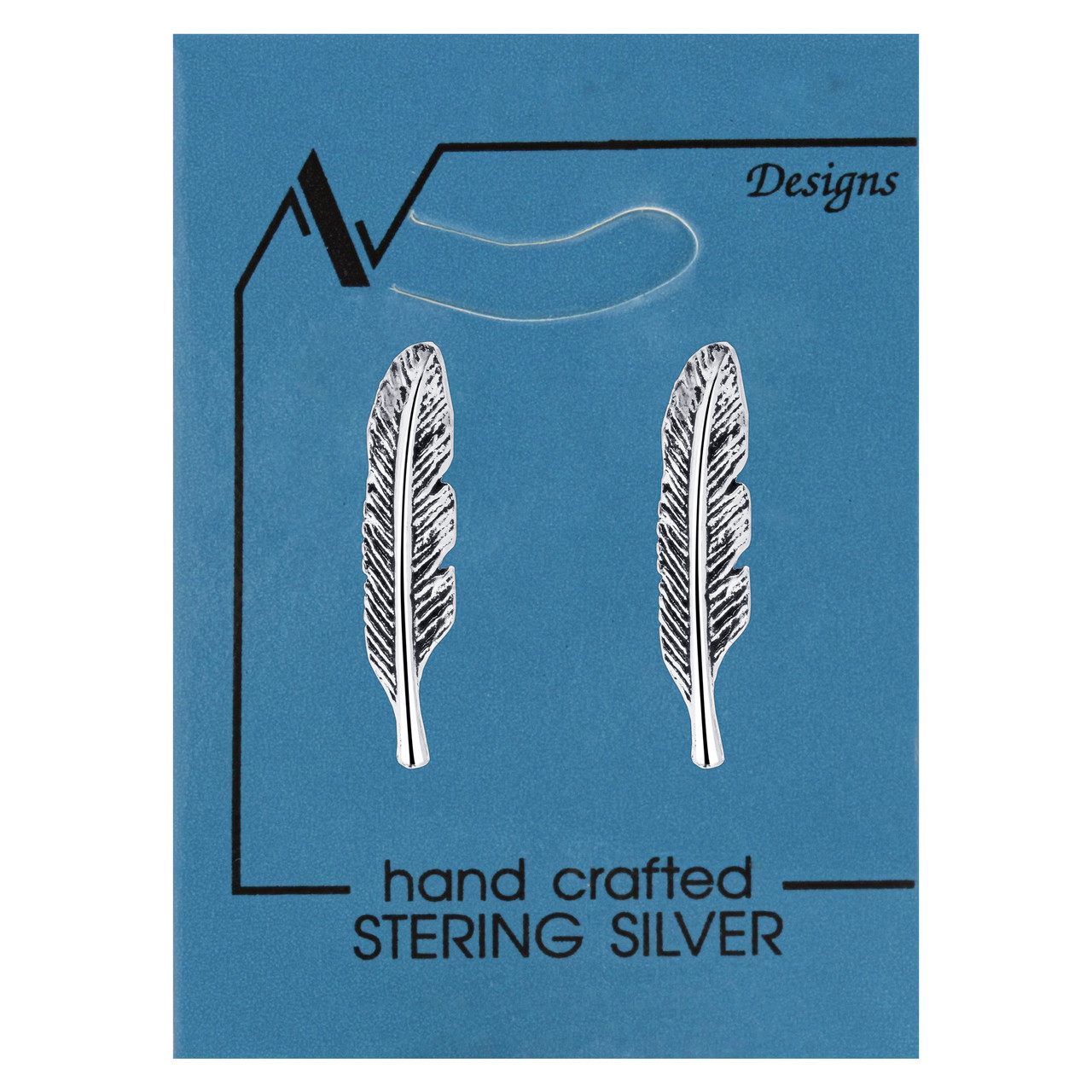 Cartilage Feather Kids Stud Earrings