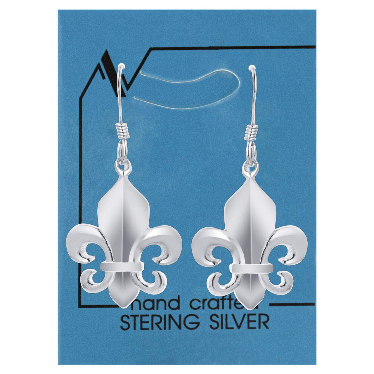 Fleur De Lis hand Made Earrings