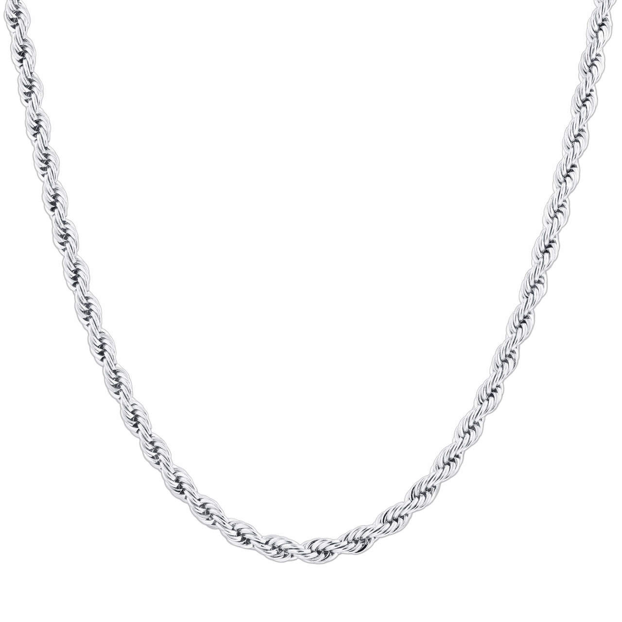 Men's Rope Chain Necklace