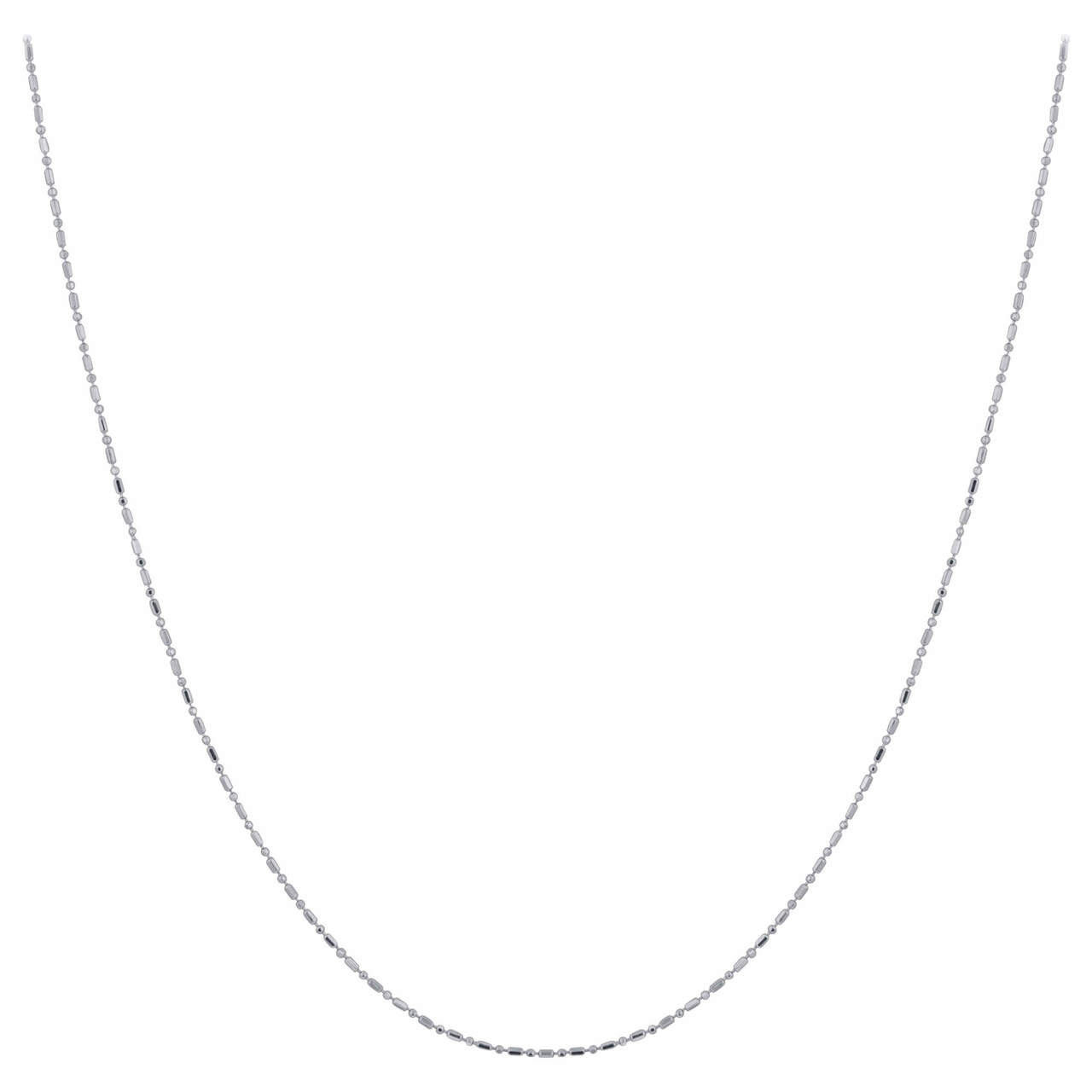 Chain Necklace with Spring Ring Clasp