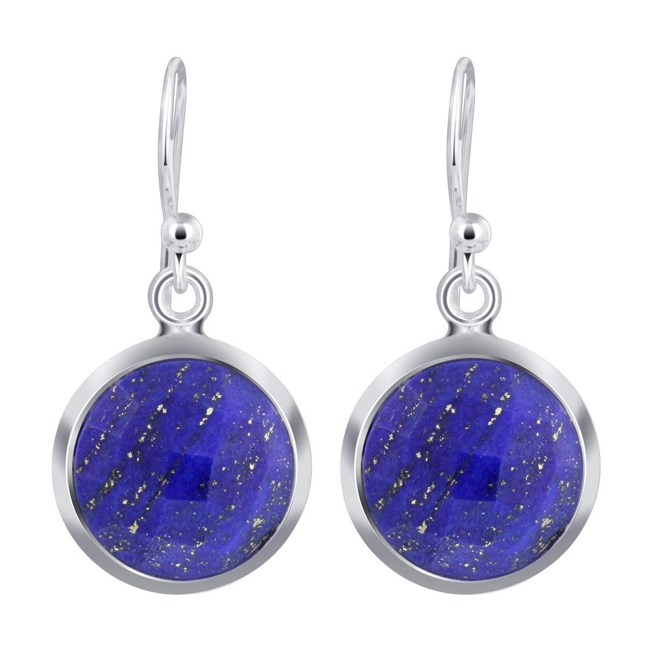 Blue Lapis Lazuli Earrings