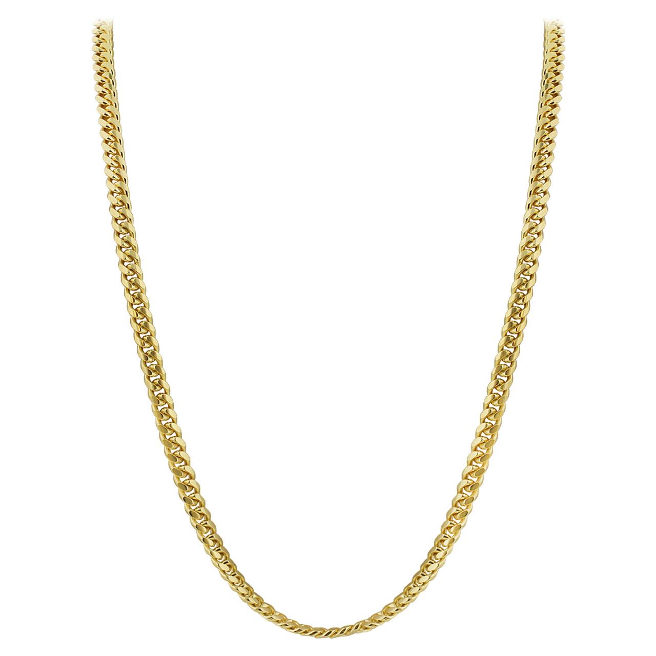 Gold Plated Italian 925 Sterling Silver Vermeil