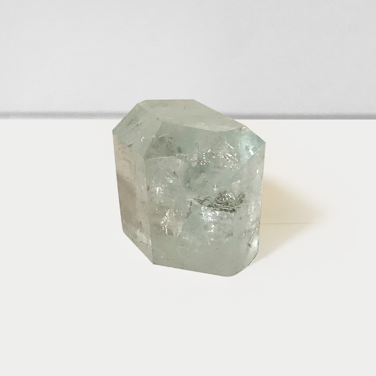 Gorgeous Faceted 87 Carat Natural Aquamarine Gemstone Crystal