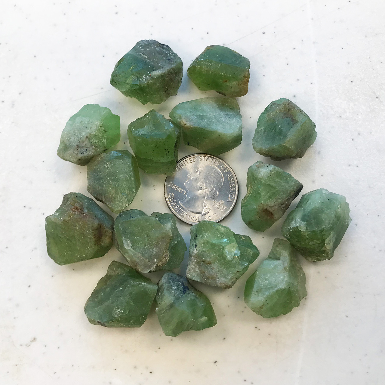 Natural Green Raw Peridot Rough Gemstone