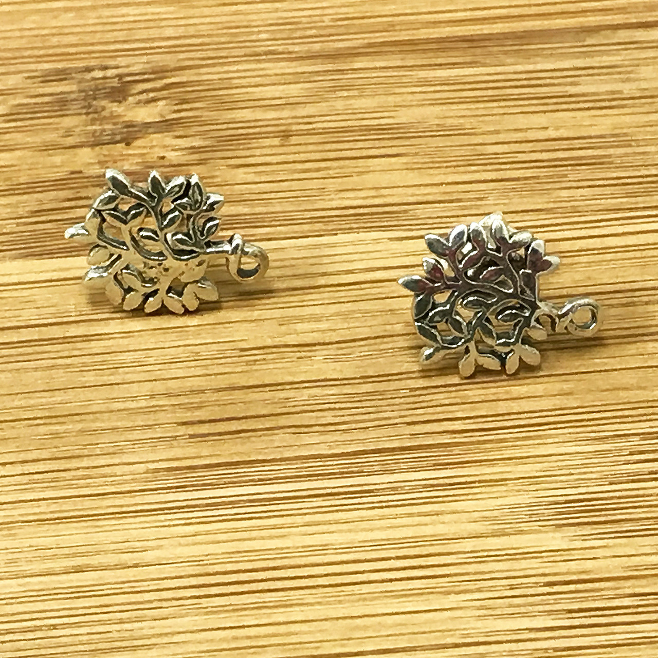 925 Silver Tree Of Life Post back Stud Earrings