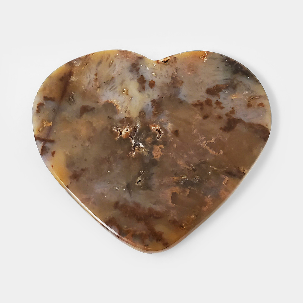 Heart Agate Collectible Crystal Gemstone