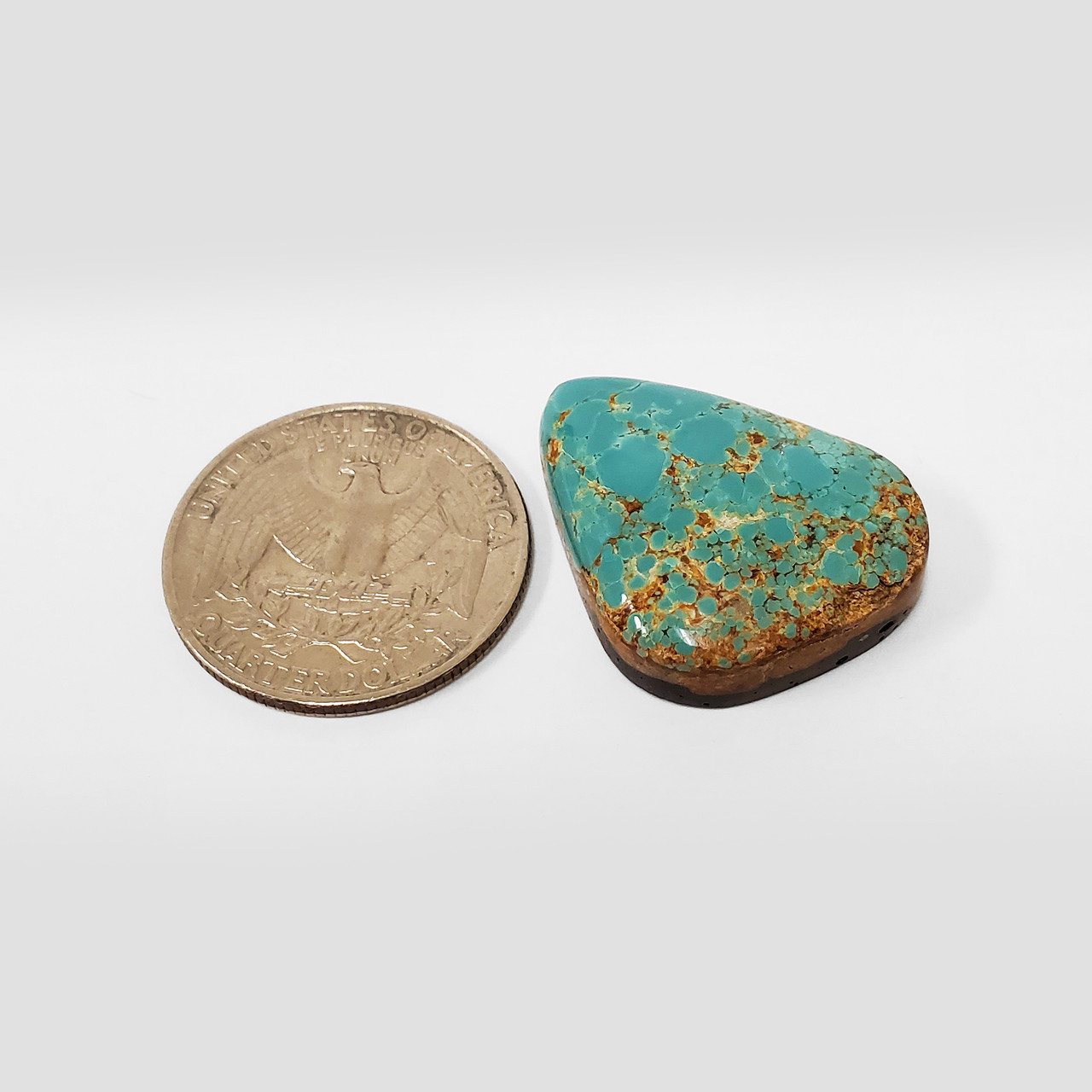 Natural Blue #8 Turquoise 33 CT Cabochon