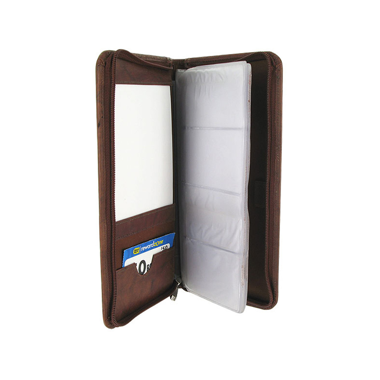 Leather Business Card Holder 5 x 10 inch Wallet