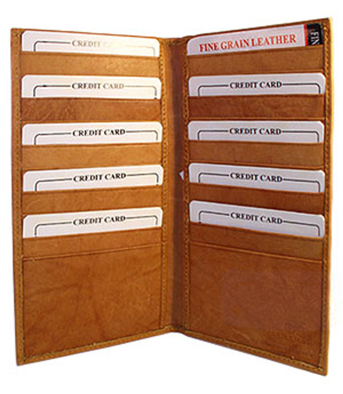 Mens Womens Leather Credit Card Holder Wallet