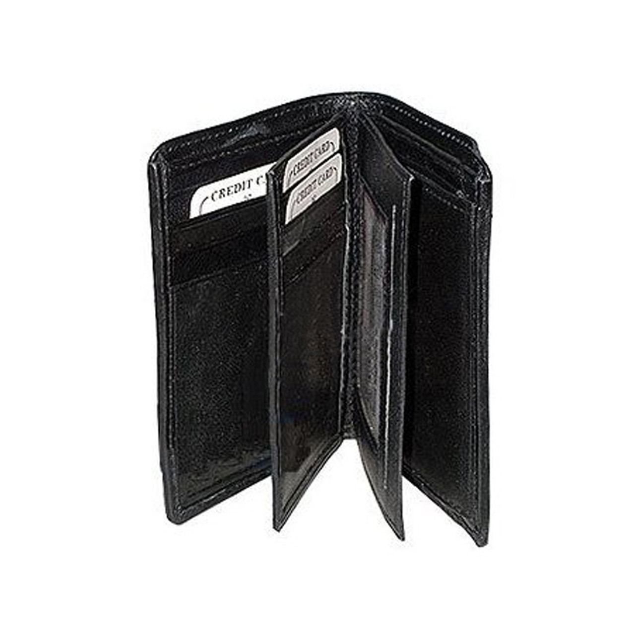 b4737b7bf083 Mens and Womens Leather Bi Fold Wallet Credit Card Holder Available in  Different Colors #MW618