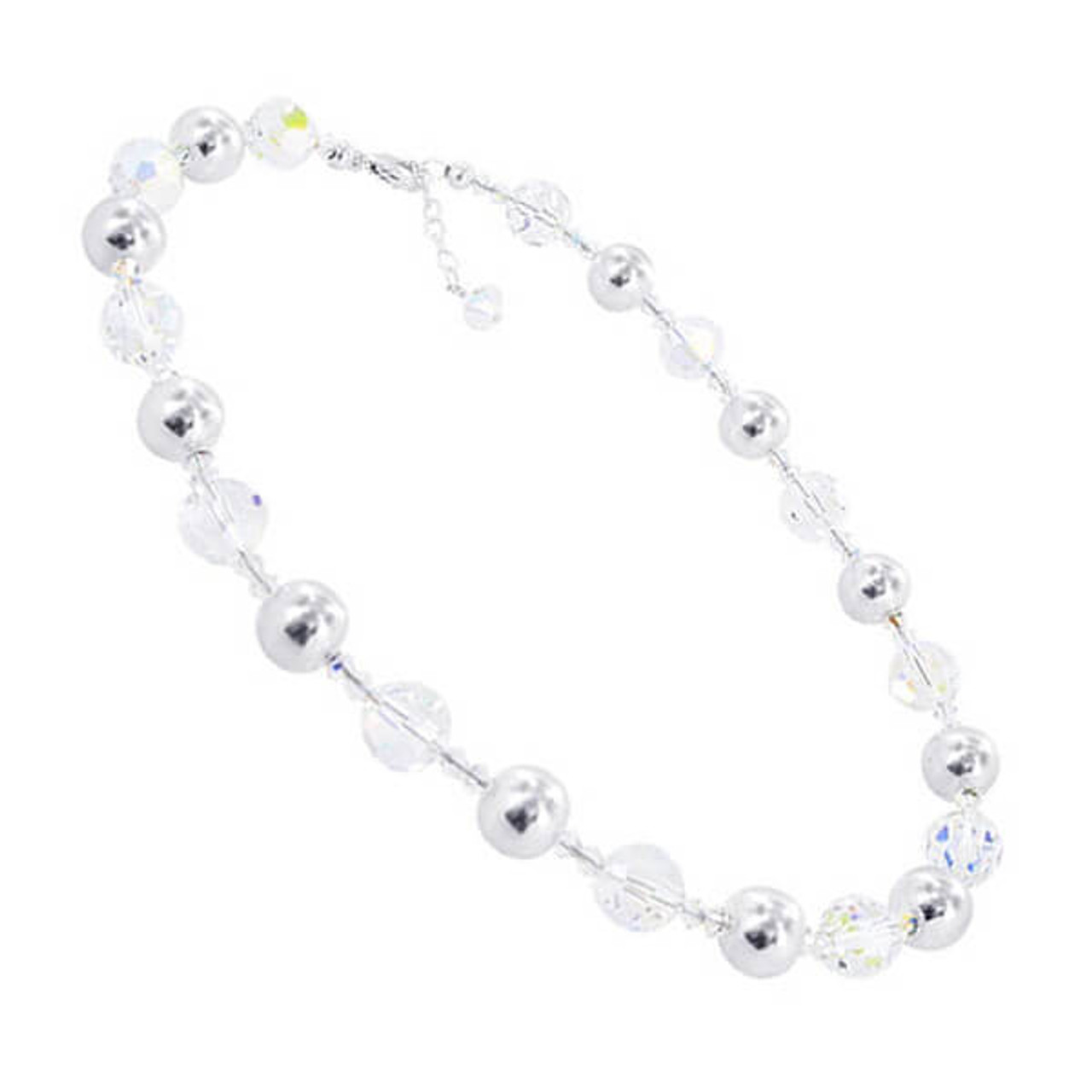 Clear AB Crystal Necklace