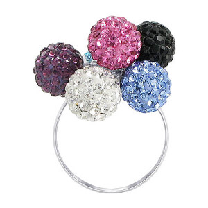 crystal ball rings