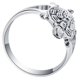 925 Sterling Silver Tortoise Ring #bd1003