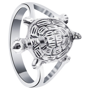 925 Sterling Silver Turtle Ring #bd1003