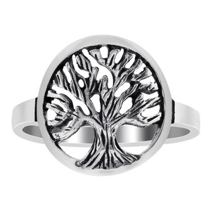925 Sterling Silver Tree of Life Ring #GR030