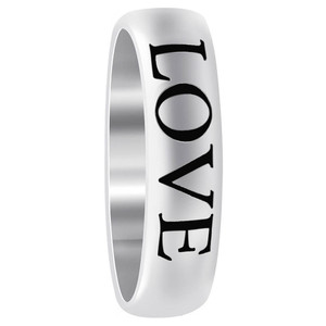 Love Engraved Band