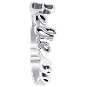 925 Sterling Silver Believe Ring
