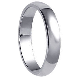 925 Sterling Silver 5mm Wide Wedding Band #jc-a20-35