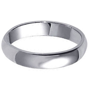 925 Sterling Silver Wedding Band