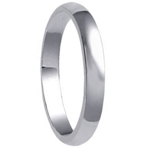 925 Sterling Silver 3mm Wide Wedding Band #jc-a20-37