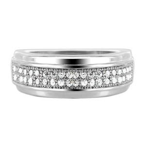 925 Sterling Silver Cubic Zirconia Ring