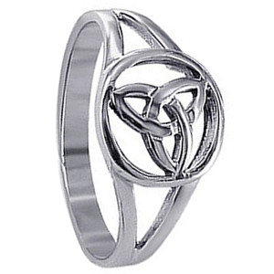 Sterling Silver Filigree Celtic Knot Ring
