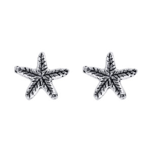 925 Silver Tiny Star Fish Post back Kids Stud Earrings