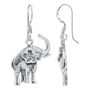 Tusker Elephant Kids Drop Earrings
