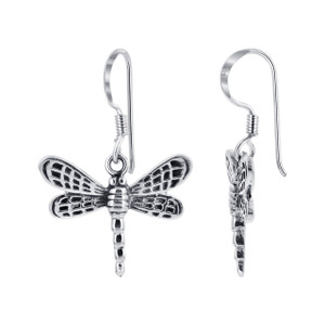 Dragonfly Drop Earrings