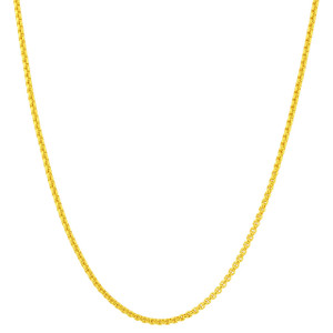 Gold Plated Chain Necklace