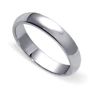 Men's 925 Sterling Silver 7mm Wedding Band #LWRS164
