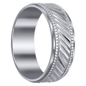 Ribbed Design Band with Comfort Fit