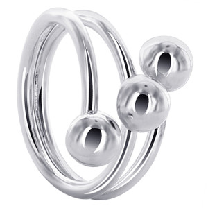 Front Wire with Ball accented Ring