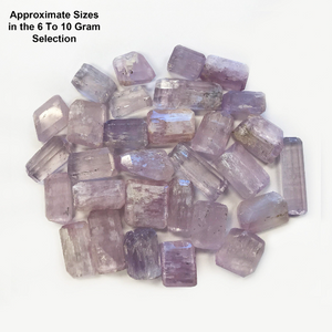 Kunzite Healing Crystal Cut Gemstones