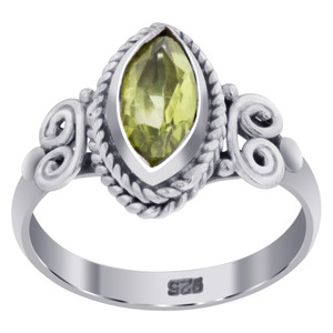Peridot Gemstone Rings