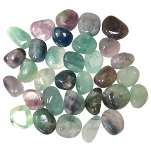 Fluorite Tumbled Gemstone