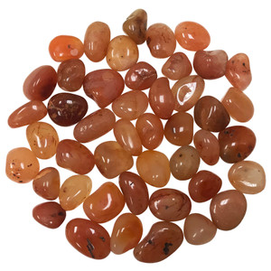 Carnelian Tumbled Gemstone