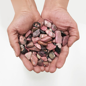Rhodonite Tumbled Gemstones