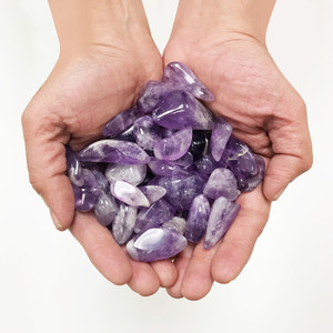 Amethyst Tumbled Gemstones