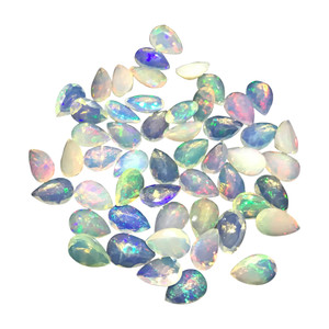 Teardrop Shape Opal Gemstone