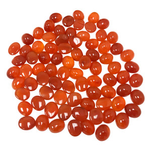 Oval Shape Carnelian Gemstone