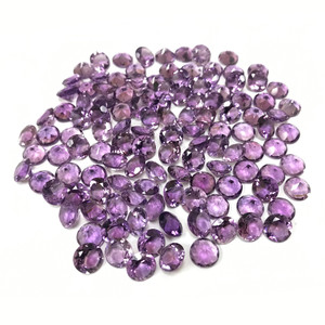 10mm Round Natural Purple Amethyst