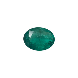 11mm x 8mm Oval Shape Natural Green Emerald Gemstone