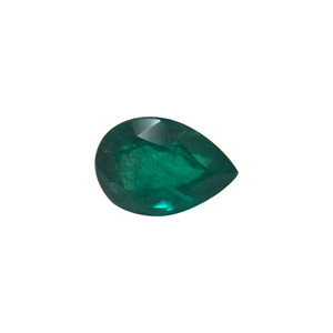 10.5mm x 7mm Natural Green Emerald Gemstone