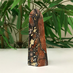 4.9 inch Self-standing Natural Multi Stone