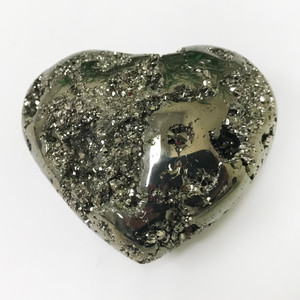 Pyrite Heart Gemstone